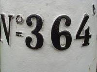 Grenspaal 364 b