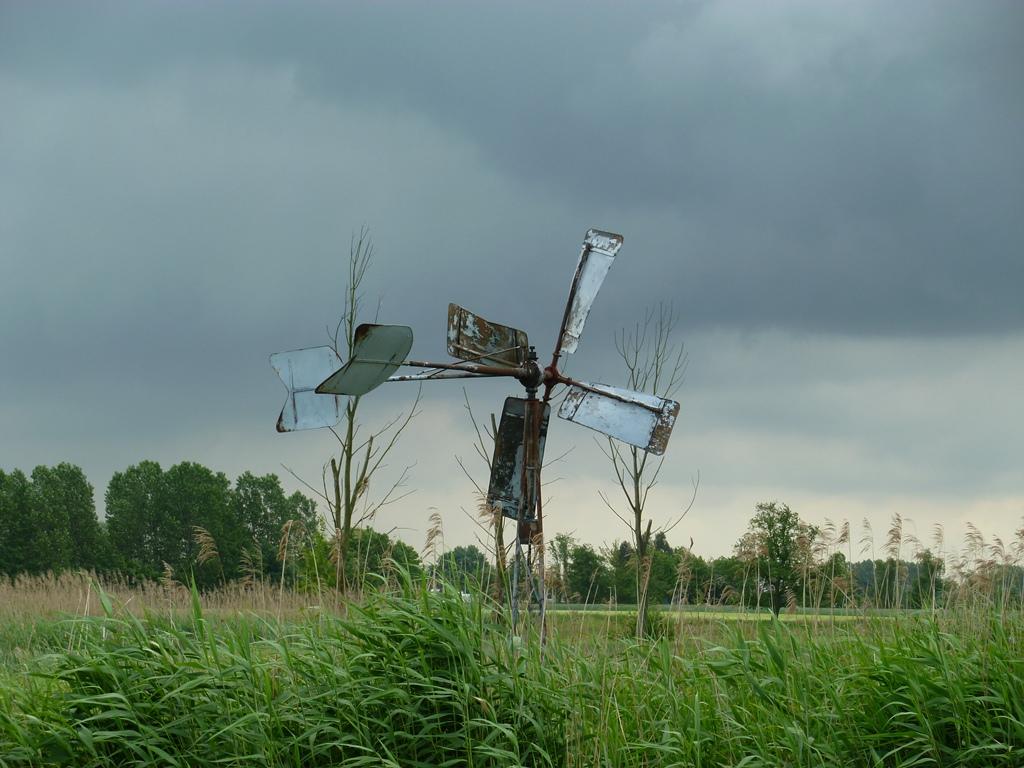 Windmolen bij Nederwetten