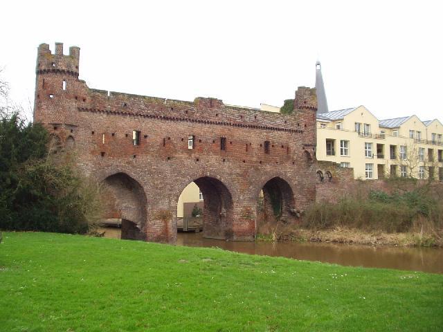 Stukje oude stadsmuur van Zutphen