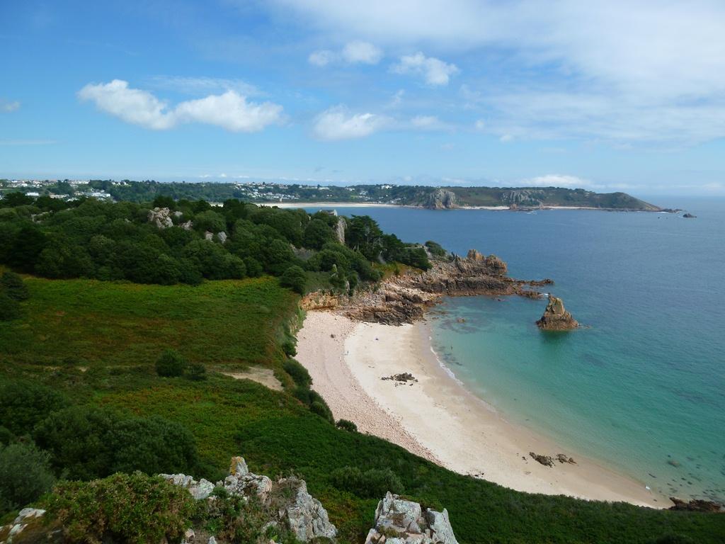 Het strand van Beau Port