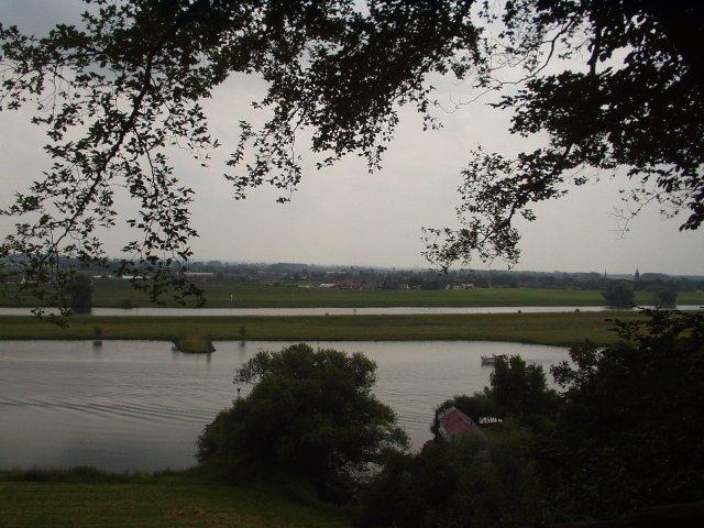 Uitzicht op Nederrijn