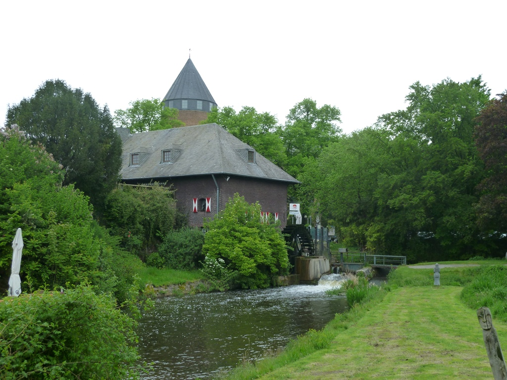 Watermolen in Brüggen