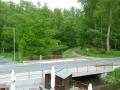 Uitzicht vanuit Lüttelforster Mühle