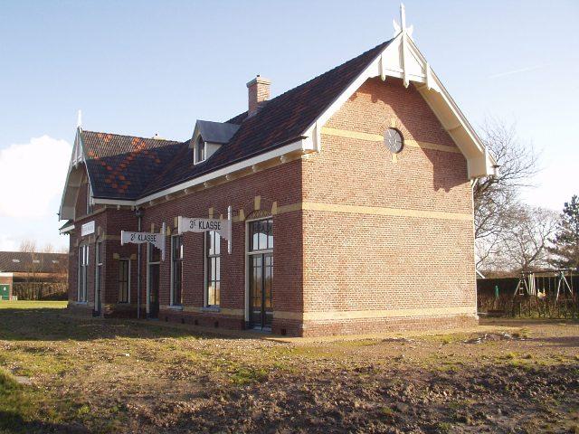 Voormalig station Marrum