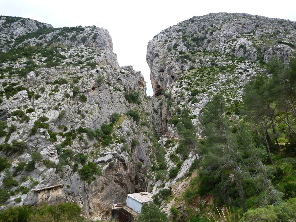 Andalusië - Garganta del Chorro