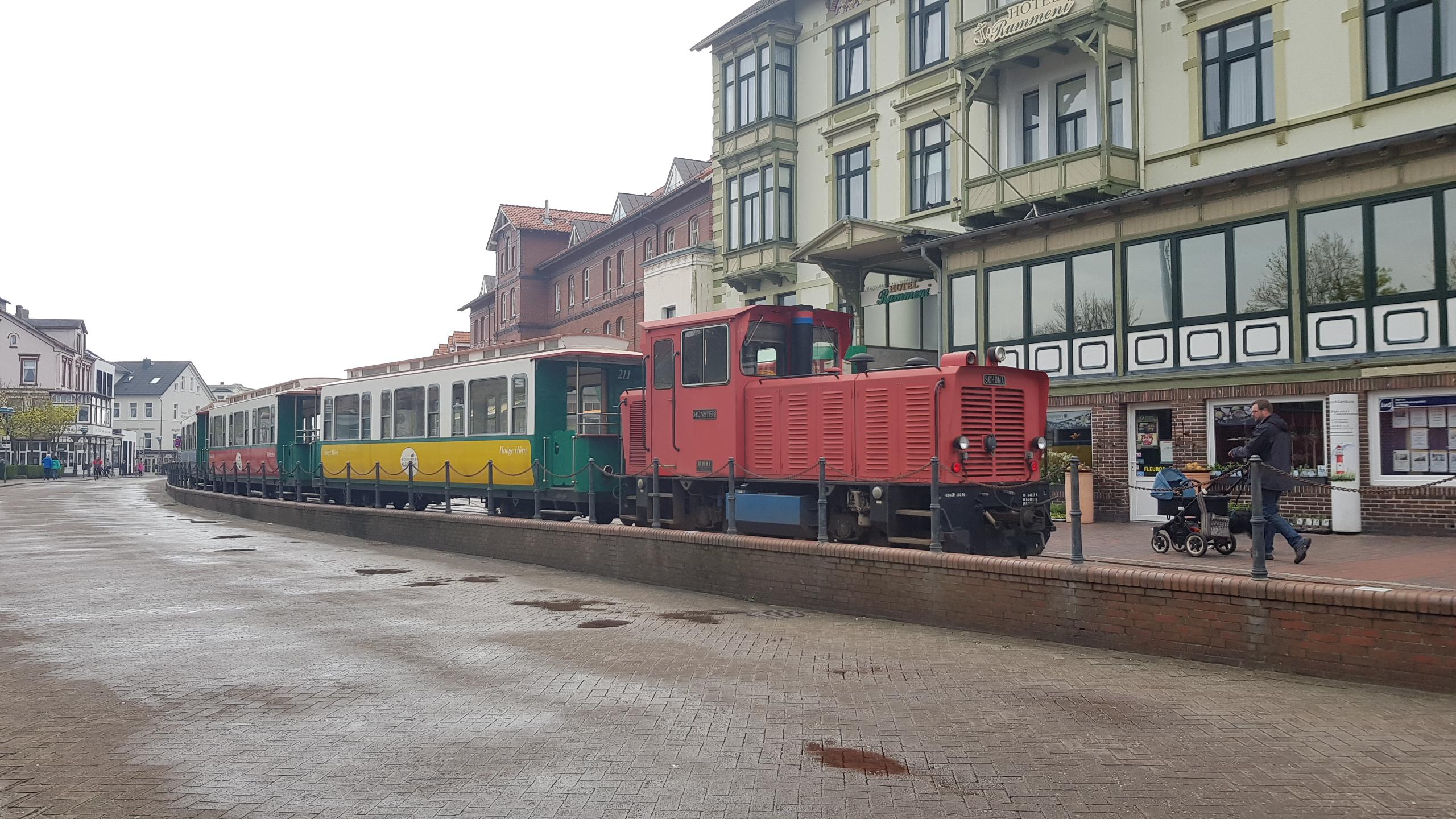 Trein Borkum - Reede