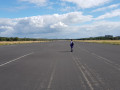 Voormalige landingsbaan