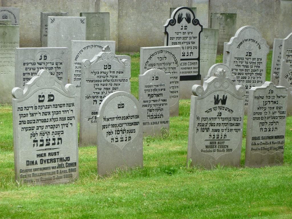 Joodse begraafplaats in Elburg