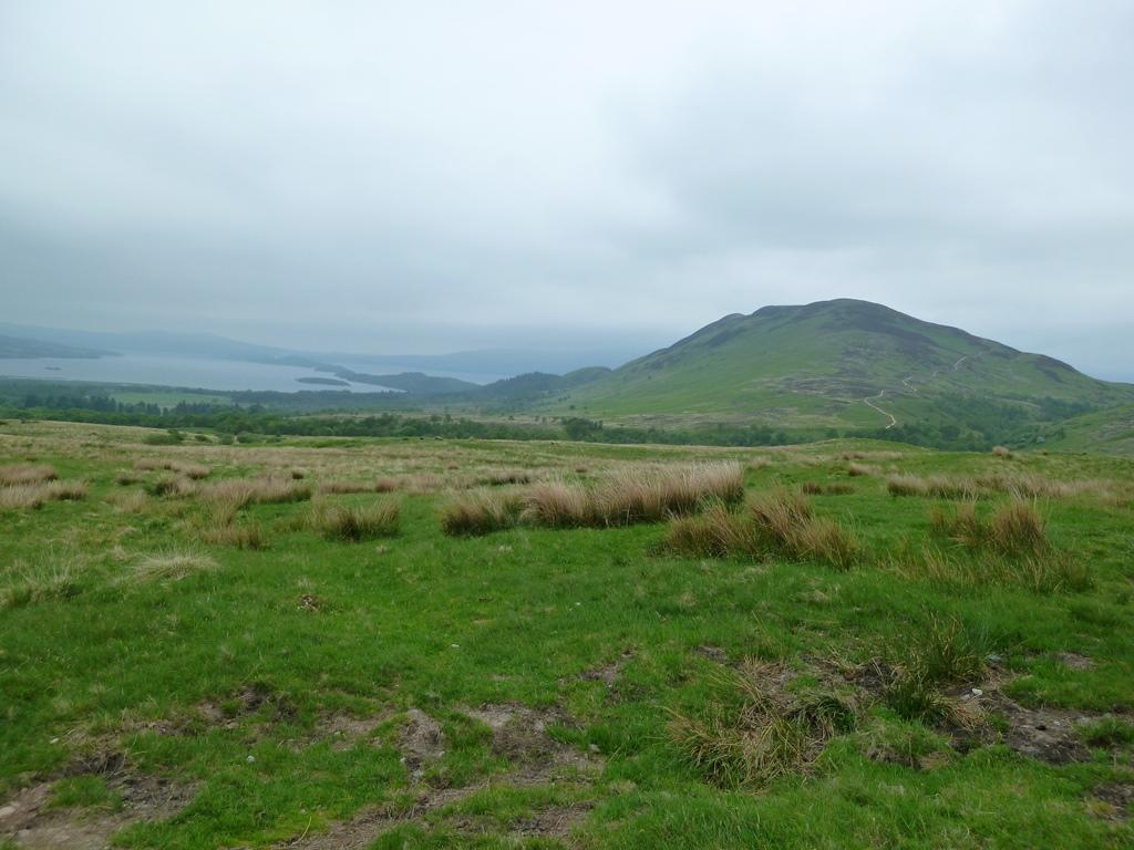 Loch Lomond en Conic Hill